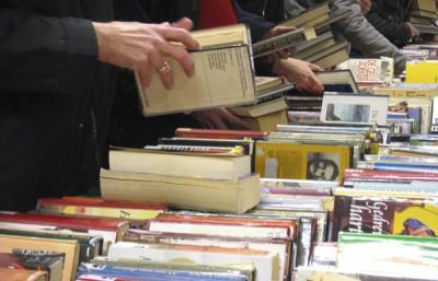 Tweedehandse boeken-verkoop