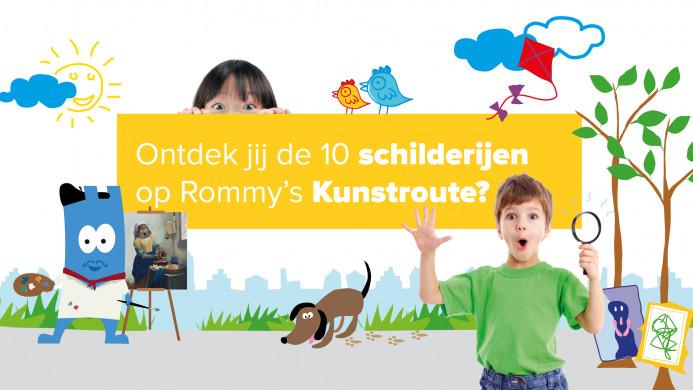 Affiche kunstroute Mechelen